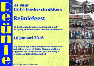 Reunie website uitgekleed